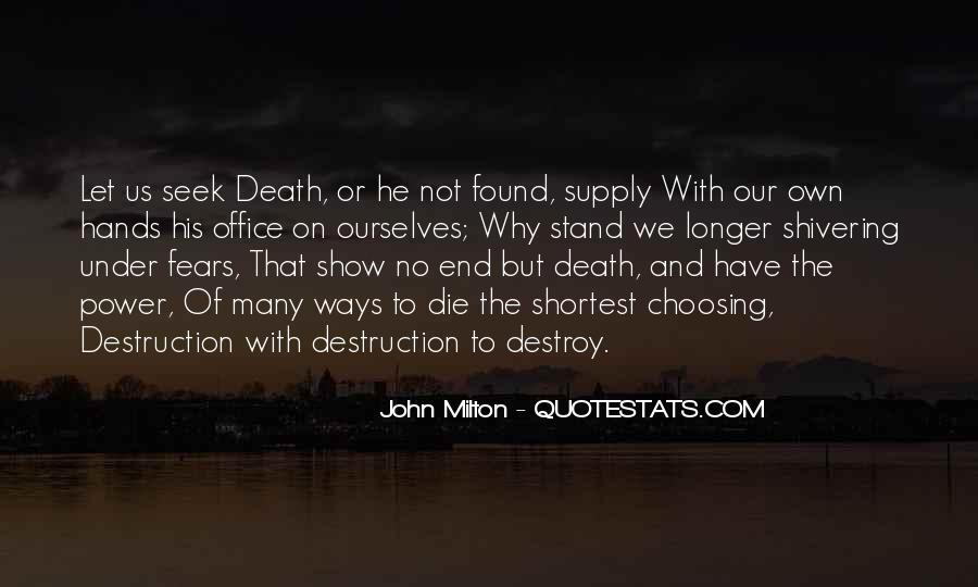 Death Not The End Quotes #279693
