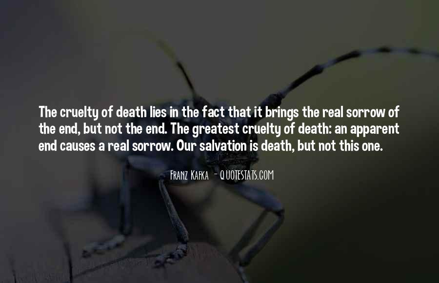 Death Not The End Quotes #299723