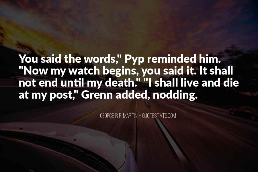 Death Not The End Quotes #309687