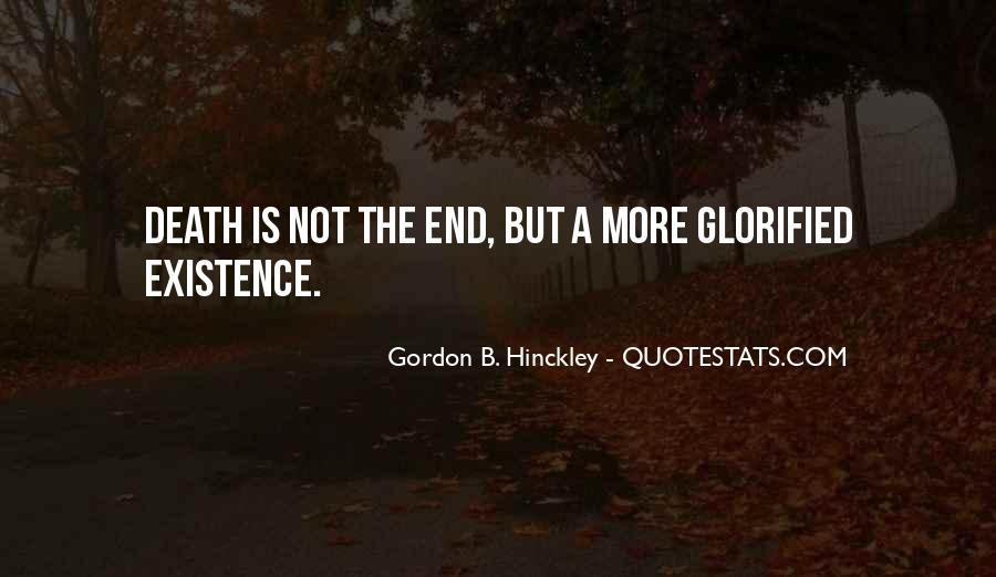 Death Not The End Quotes #339743