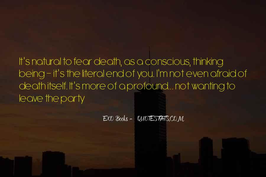 Death Not The End Quotes #370496