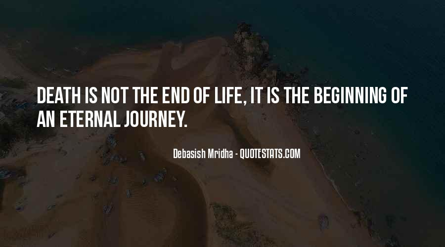 Death Not The End Quotes #395999