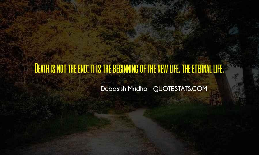 Death Not The End Quotes #47796