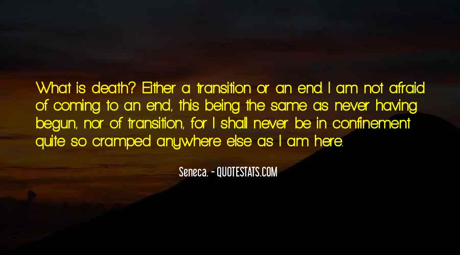 Death Not The End Quotes #493138