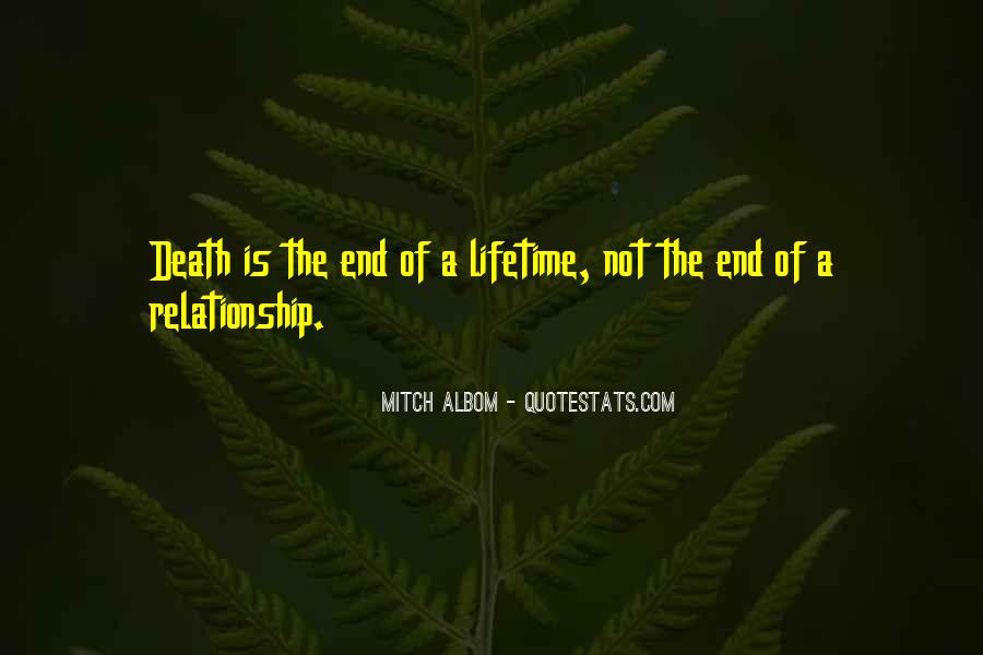 Death Not The End Quotes #50780