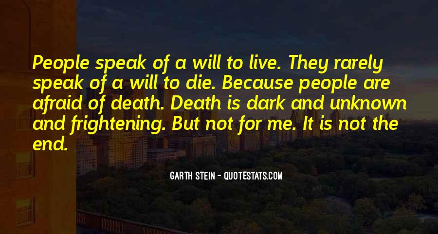 Death Not The End Quotes #623240