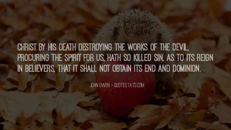 Death Not The End Quotes #70089