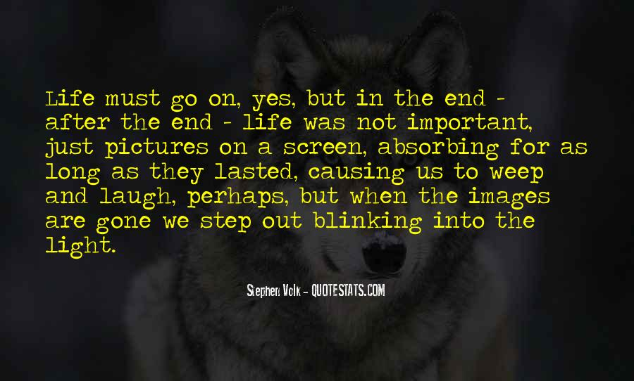 Death Not The End Quotes #817538
