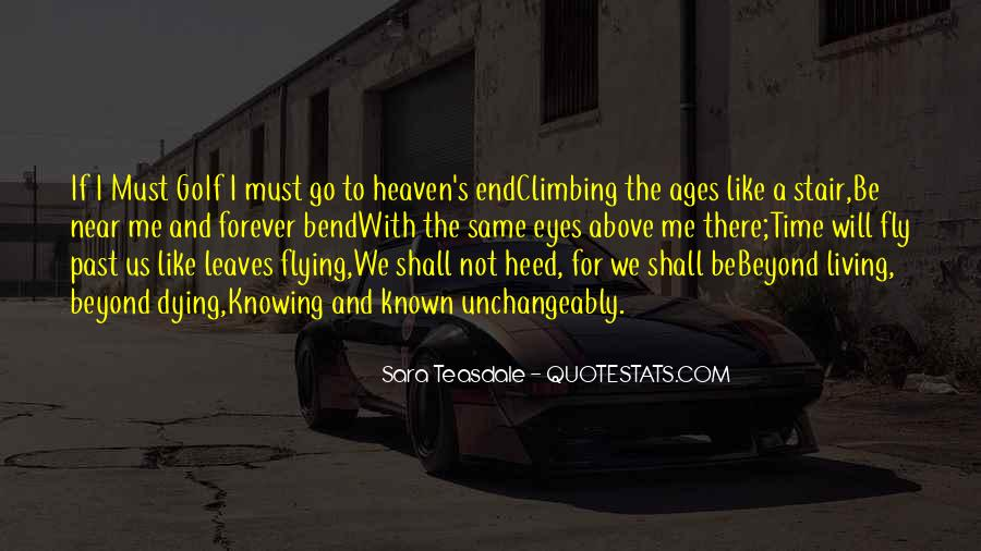 Death Not The End Quotes #87422