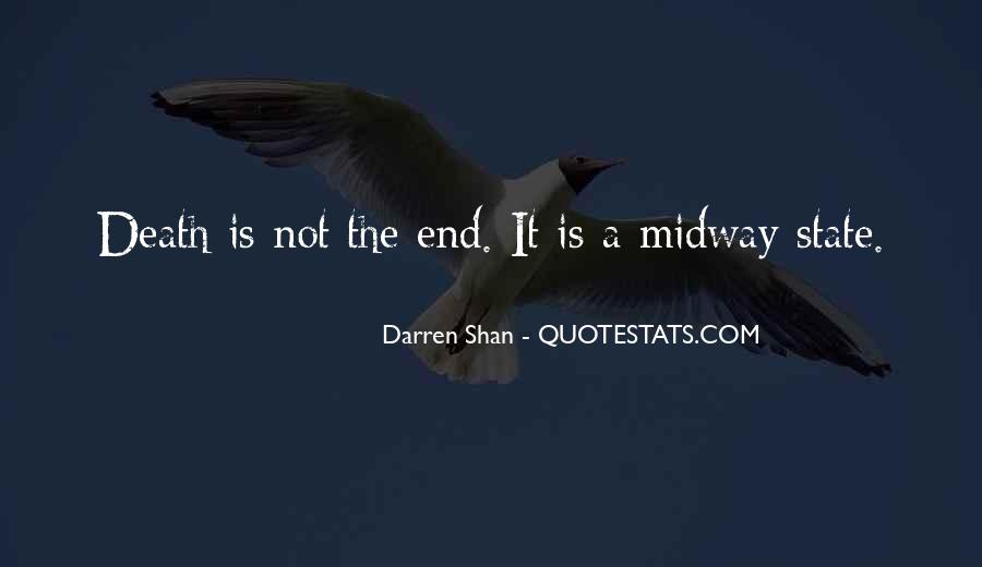 Death Not The End Quotes #9659