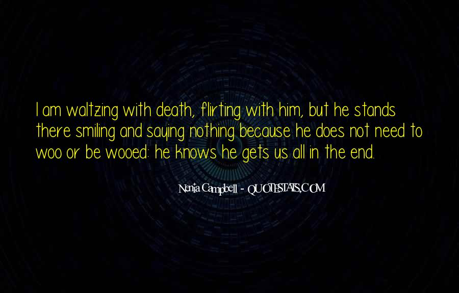 Death Not The End Quotes #978656