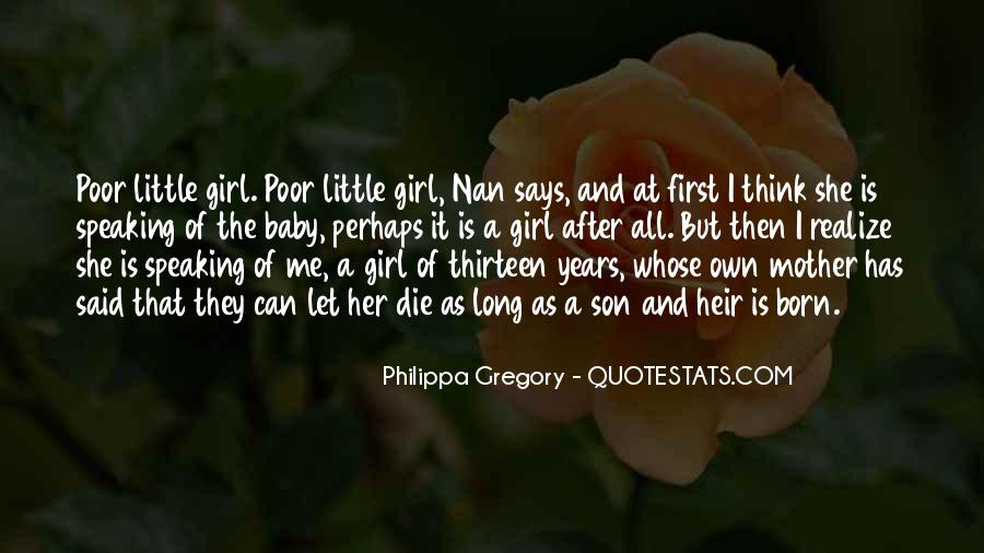 Death Of A Little Girl Quotes #1296357