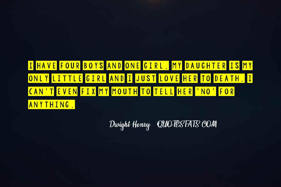 Death Of A Little Girl Quotes #1428946