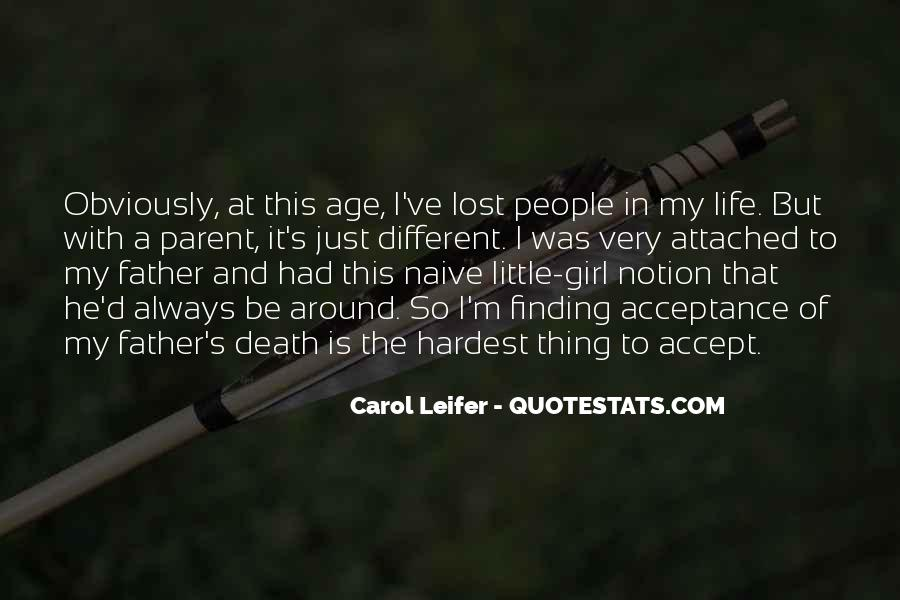 Death Of A Little Girl Quotes #156341