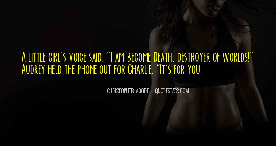Death Of A Little Girl Quotes #785394