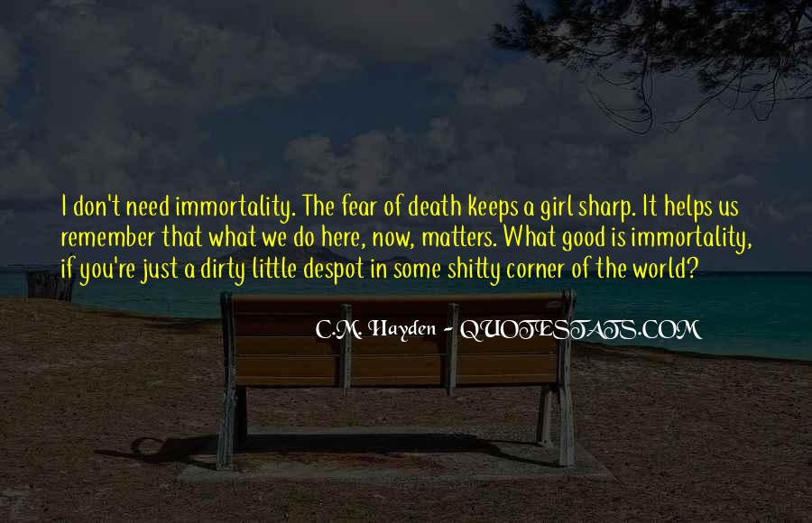 Death Of A Little Girl Quotes #855164