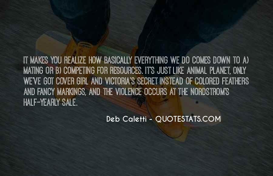 Deb Caletti He's Gone Quotes #127439