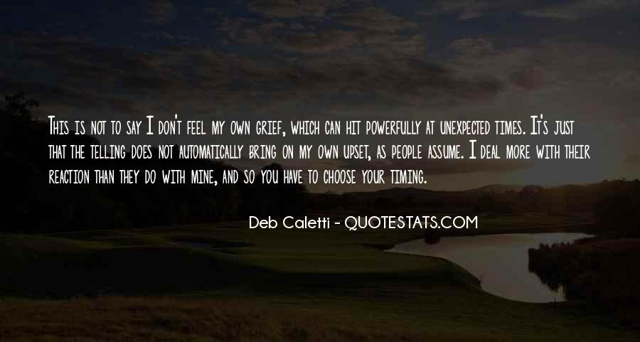 Deb Caletti He's Gone Quotes #142771