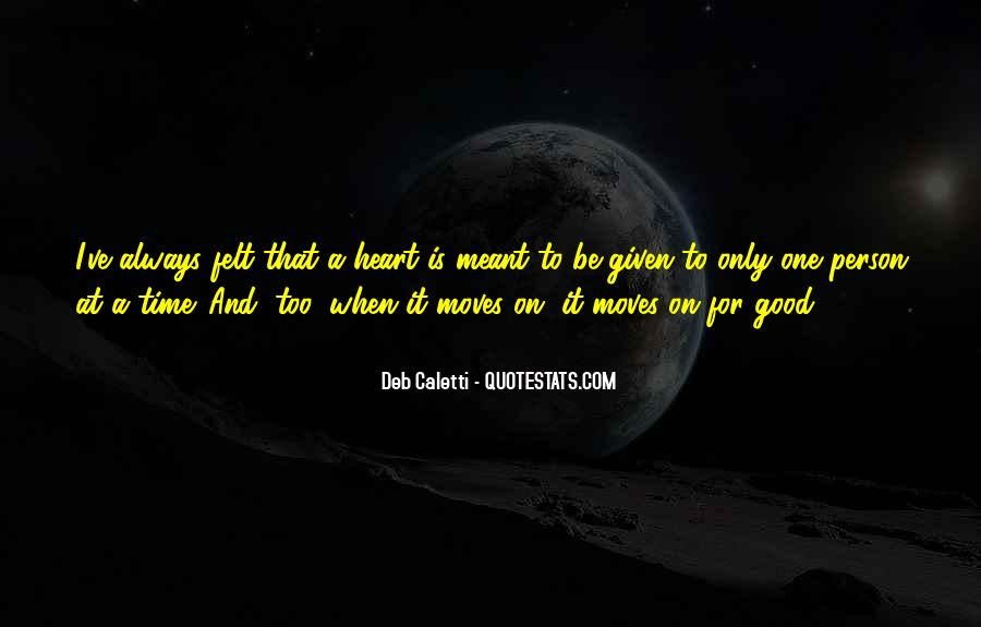 Deb Caletti He's Gone Quotes #19320