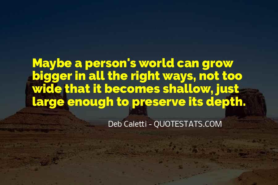Deb Caletti He's Gone Quotes #280344
