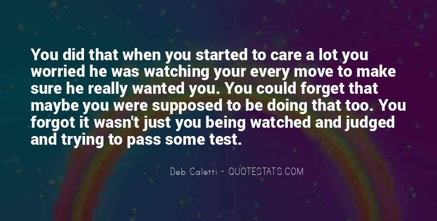 Deb Caletti He's Gone Quotes #497687