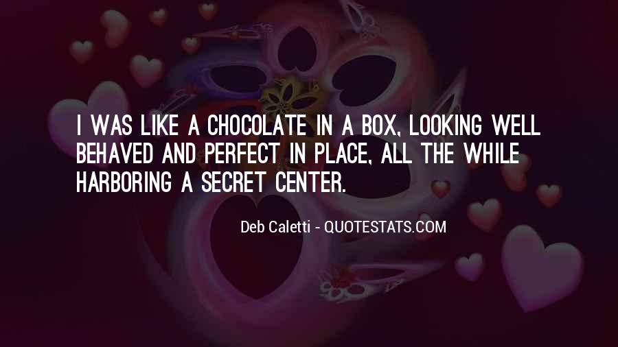 Deb Caletti He's Gone Quotes #531435