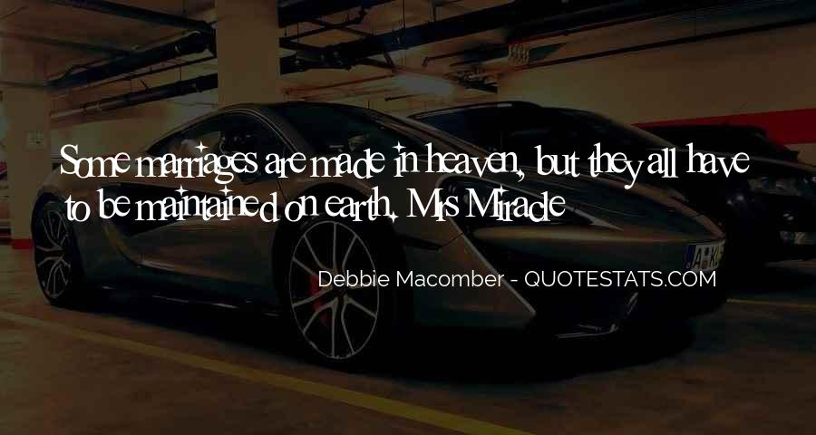 Debbie Macomber Mrs Miracle Quotes #454855