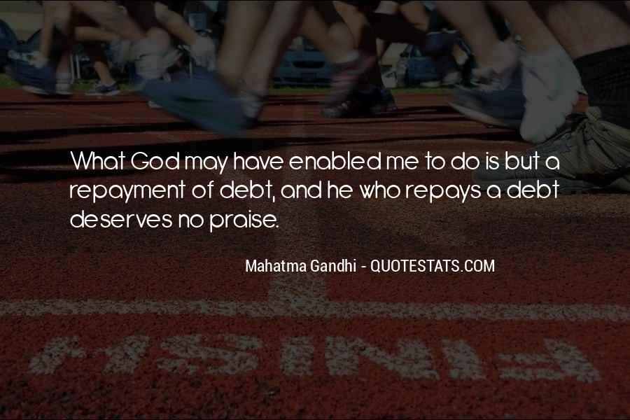 Debt Repayment Quotes #1086782