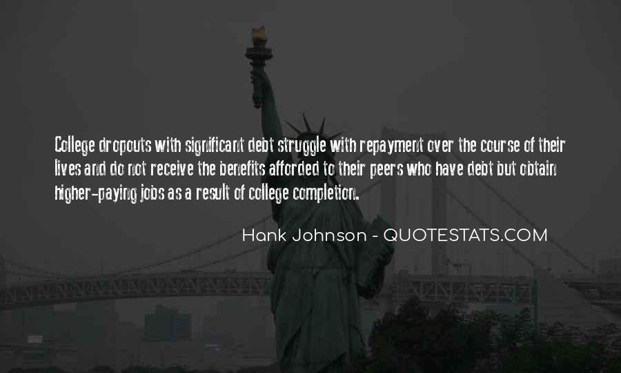 Debt Repayment Quotes #735590