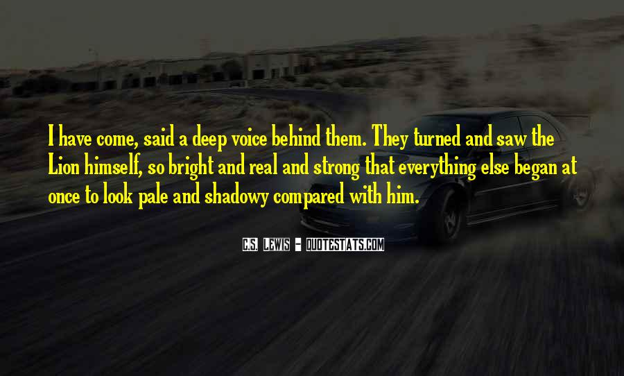 Deep And Real Quotes #506378