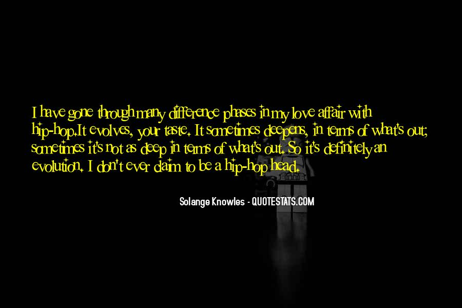 Deep Hip Hop Love Quotes #1434857