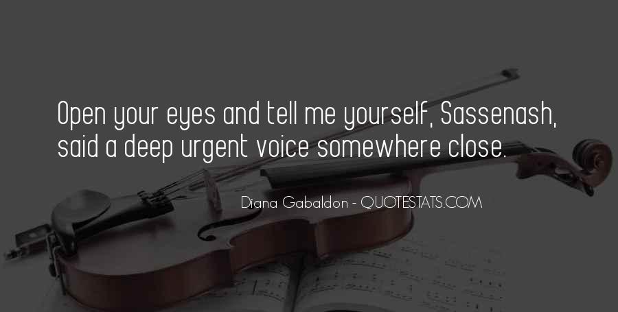 Deep Into My Eyes Quotes #232602