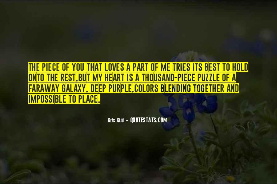 Deep Purple Love Quotes #51367
