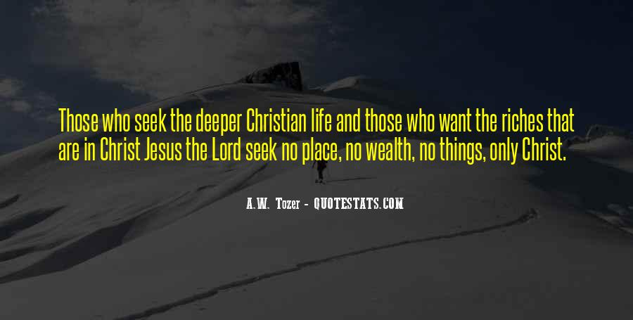 Deeper Christian Quotes #1324638