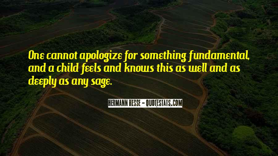 Deeply Apologize Quotes #1558955