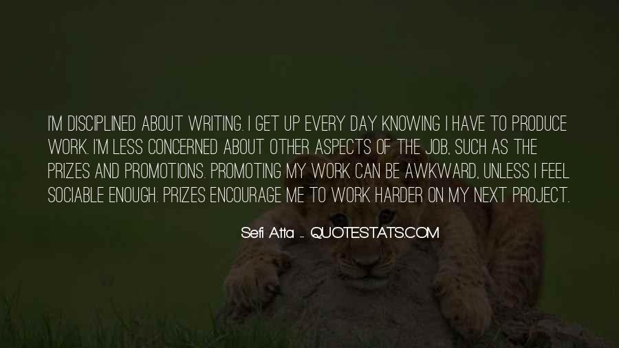 Quotes About Job Promotions #1231495