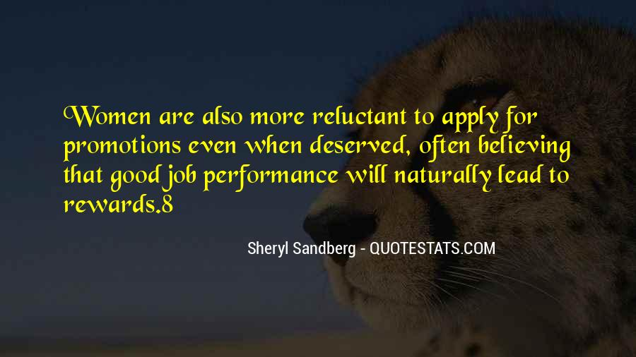 Quotes About Job Promotions #1694764