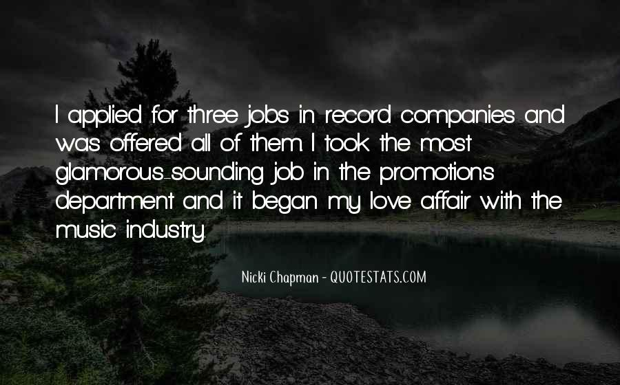 Quotes About Job Promotions #1788485