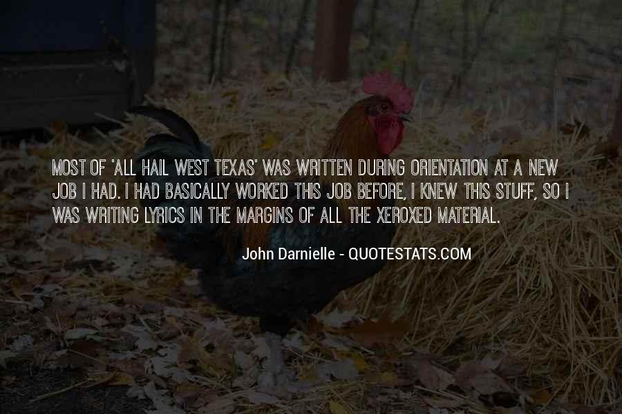 Quotes About Job Orientation #1434688