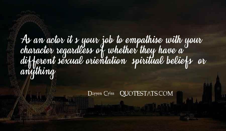 Quotes About Job Orientation #86730