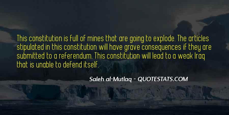 Defend The Constitution Quotes #1163712