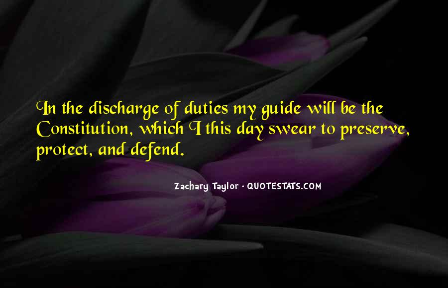Defend The Constitution Quotes #141182
