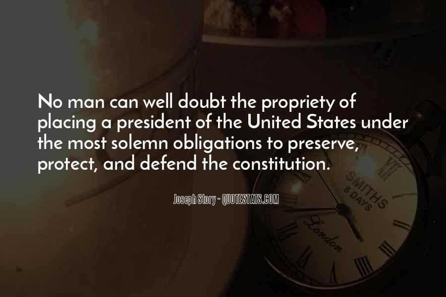 Defend The Constitution Quotes #1426699