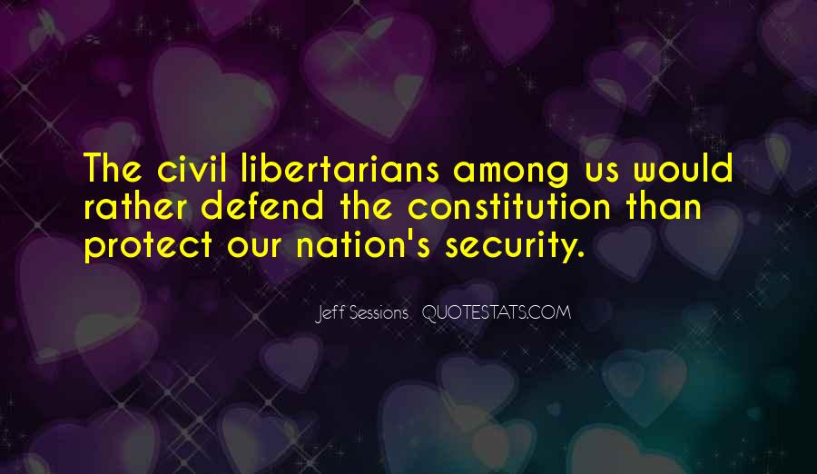 Defend The Constitution Quotes #1591684