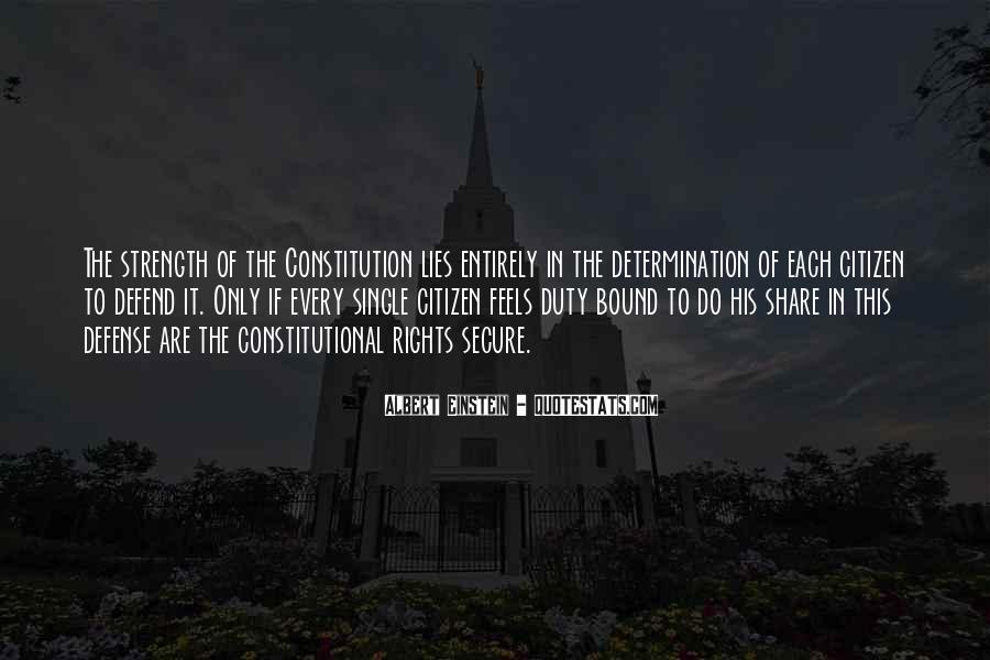 Defend The Constitution Quotes #381787
