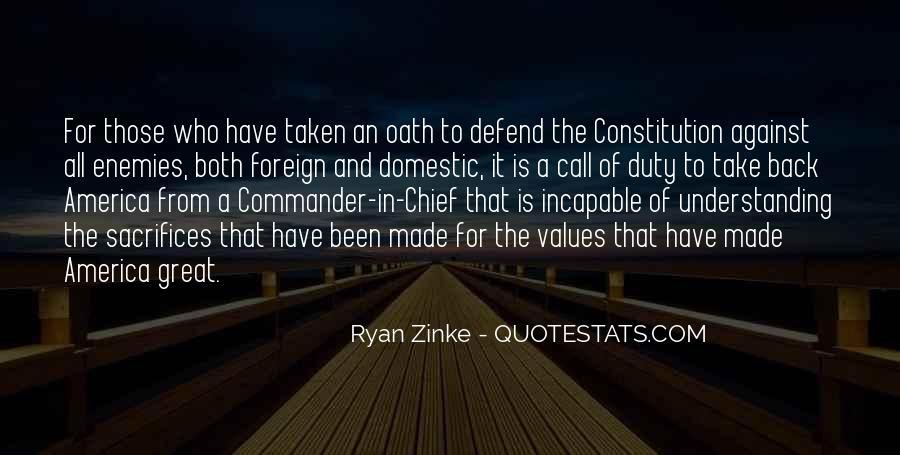 Defend The Constitution Quotes #566377