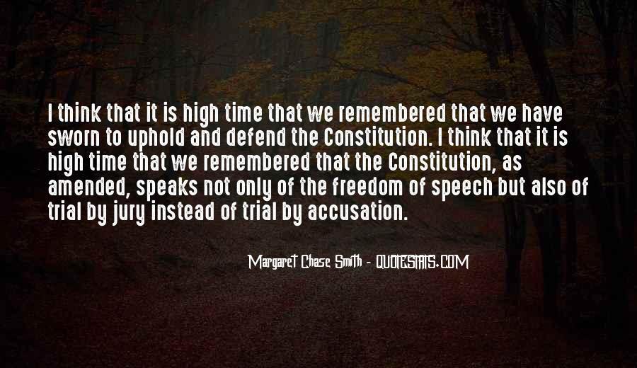 Defend The Constitution Quotes #776203