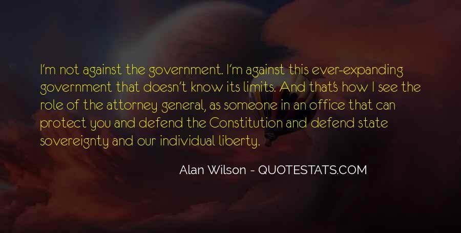 Defend The Constitution Quotes #92748