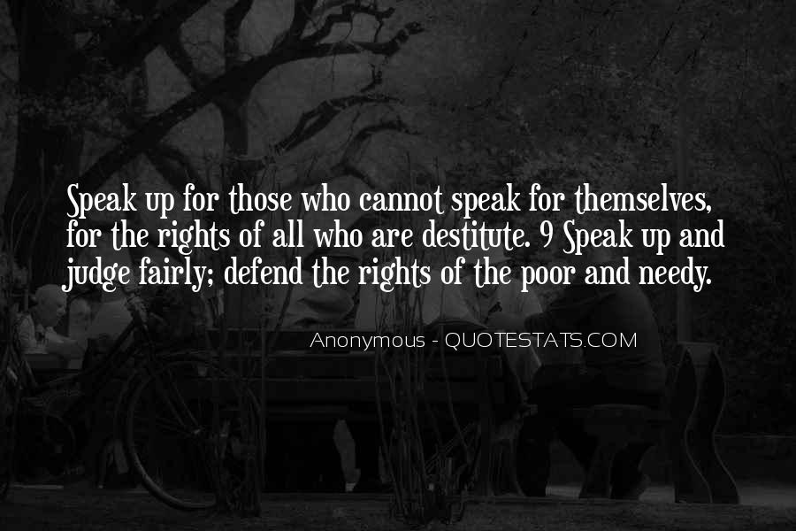 Defend Your Rights Quotes #310277