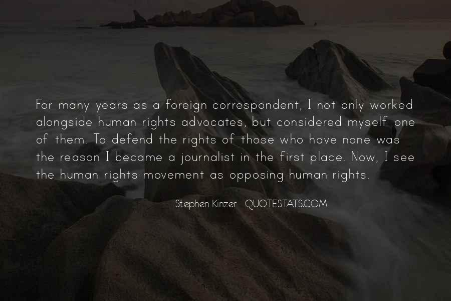 Defend Your Rights Quotes #364661